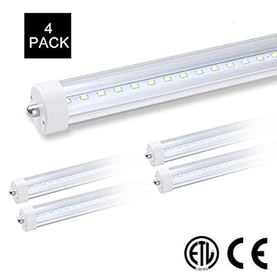 4pack 8ft Led Tube Light