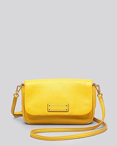879c2281328b Image Unavailable. Image not available for. Color  MARC BY MARC JACOBS TOO  HOT TO HANDLE SOFIA Yellow CROSSBODY BAG