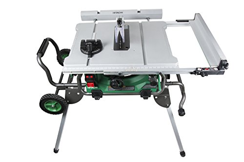 "Hitachi C10RJ 10"" 15-Amp Jobsite Table Saw with 35"