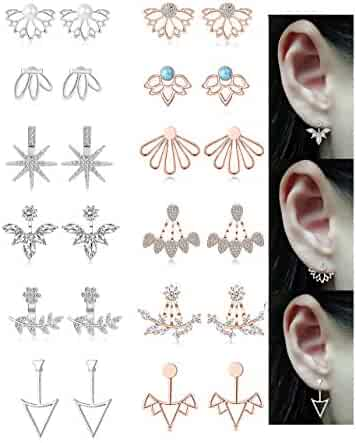 b58af2704fe26 Shopping 3 Stars & Up - Earring Jackets - Earrings - Jewelry - Women ...