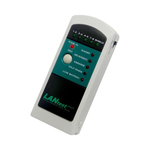LANtest Pro Remote Network Cable Tester with Tone Generator