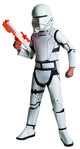 Star Wars: The Force Awakens Child's Super Deluxe Flametrooper Costume, -
