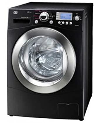 lg f1402fds6 steam 9kg black wash capacity 1400rpm steam direct drive washing machine. Black Bedroom Furniture Sets. Home Design Ideas