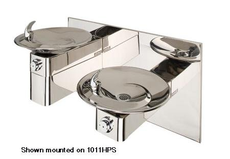 Haws SK3HPS, High Polished Stainless Steel Cane Touch Skirt, for use with 1011 Series Drinking ()