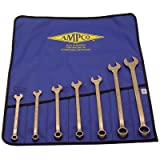 7 Piece Combination Wrench Set w/vinyl roll