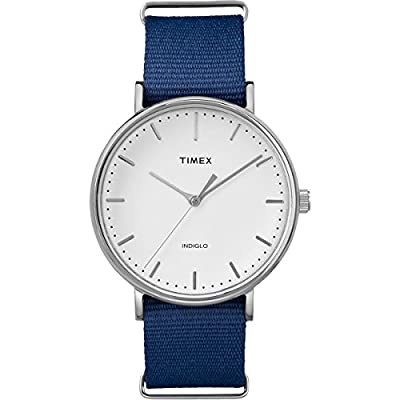 Timex Unisex Weekender Fairfield 41mm Slip-Thru Strap Watch