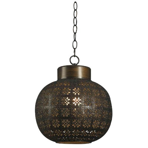 Kenroy Home Kenroy Home 92055ABR Seville 1 -Light Mini Pendant