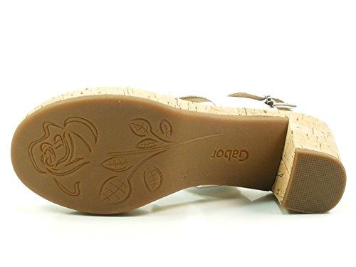 Gabor Læder 777 Kvinde Mode Sandaler 82 Hvid 57Fg8Kx