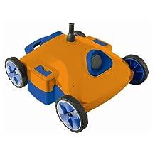 Aquabot NE3285F Aquafirst Super Rover Robotic Pool Cleaner, Orange/Blue