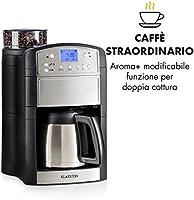 Klarstein Aromatica - Cafetera de filtro Thermos Acciao acero ...