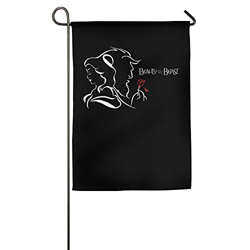 Beauty And The Beast White Memorial Window Flag 2016 Party