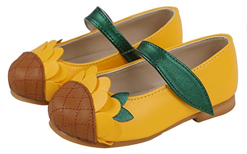 Casual Jane With Little Mary Pattern Ozkiz yellow Various S287 Shoes Flats Girls Eq7wnO6I