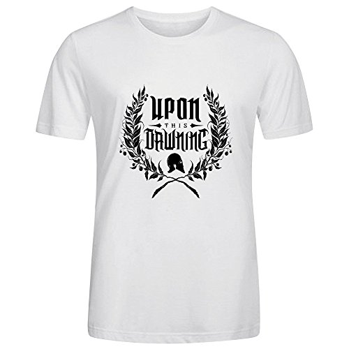 Upon This Dawning Upon This Dawning Mens Sexy Tee Shirts O Neck White
