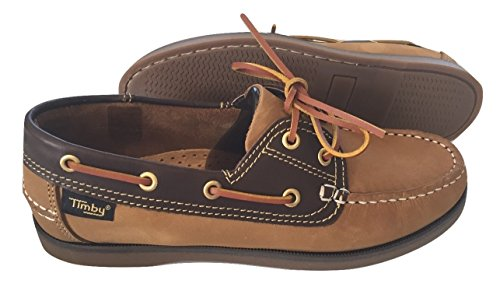 Timby Deck Shoes Tan Lace up uhodhy