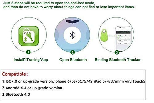 amazon com bluetooth 4 0 anti lost anti theft alarm device tracker
