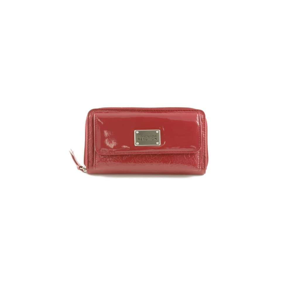 Kenneth Cole Reaction Women's Logo Shiny Patent Style 112518/878 (Red)