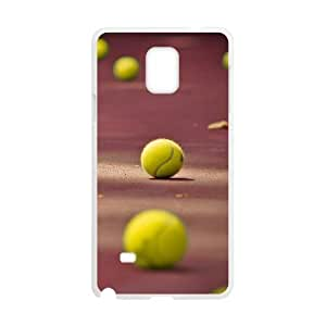 New Fashion Hard Back Cover Case for Samsung Galaxy Note 4 with New Printed Tennis