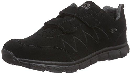 Bruetting Glendale V Herren Sneakers Schwarz (Schwarz/Grau)