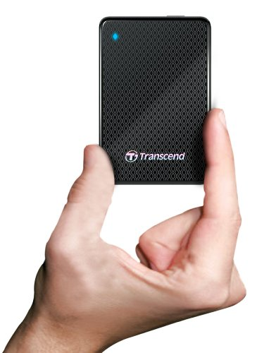 Transcend Information 256GB SuperSpeed 2.5-Inch USB 3.0 External Solid State Drive 260/225 MB/s TS256GESD200K by Transcend (Image #6)