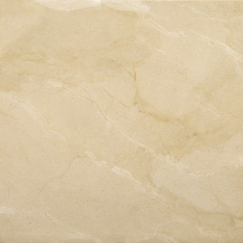 Floor or Bathroom Natural Stone Tile Marble Tile 12in x 12 in x 1 cm Crema Europa Honed -