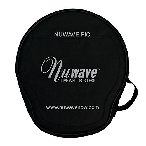 NUWAVE P.I.C. Padded Carrying Case Travel Storage, compatible with PIC(30121), PIC2 (30151), GOLD PIC (30201, 30211, 30212, 30232, 30242), PIC PRO (30301), and PIC TITANIUM (30341,30342,30343,30346)