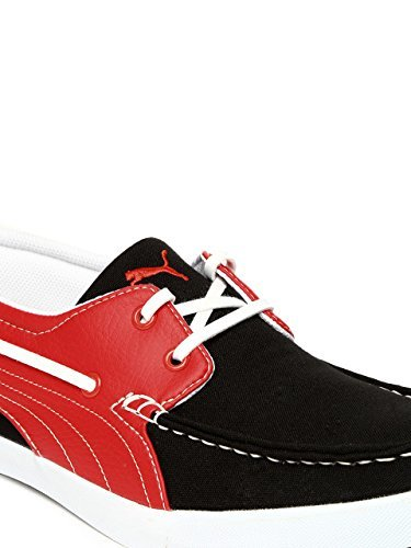 15eaf11886e4 Puma Men s Yacht Syn DP Black-High Risk Red Running Shoes - 5 UK India  (38EU)  Buy Online at Low Prices in India - Amazon.in