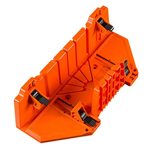 (Baynne Multi-use Oblique Woodworking Clamping Miter Box Backsaw Woodworking)