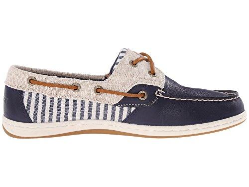 Sperry Top-Sider Zapatillas de koifish Mujer Rayas Arena Azul marino