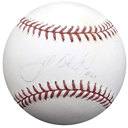 Josh Beckett Autographed Official MLB Baseball Boston Red Sox, Florida Marlins JSA #E15691
