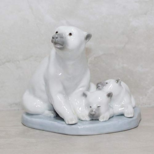 Lladro Figurine, 5434 Miniature Polar Bear