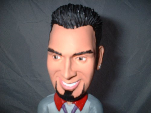 (2001 Chris Kirkpatrick 'N Sync Bobblehead Figure Numbered with C.O.A.)