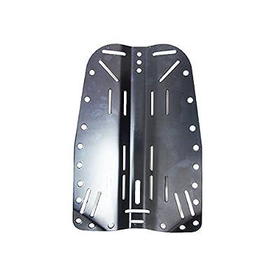 Scuba Choice Tech Diving Aluminum Backplate