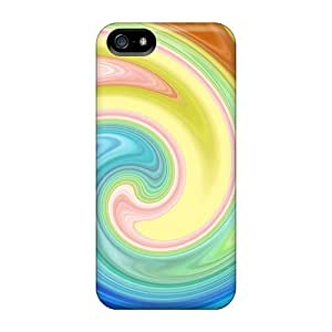 New Design Shatterproof Opz8672Qnro Case For Iphone 5/5s (retroswirl)