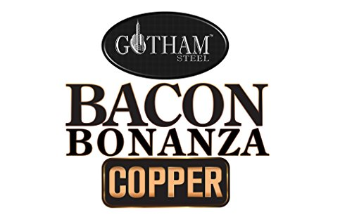 Bacon Bonanza by Gotham Steel Oven Healthier Bacon Drip Rack Tray with Pan – As Seen on TV by GOTHAM STEEL (Image #4)