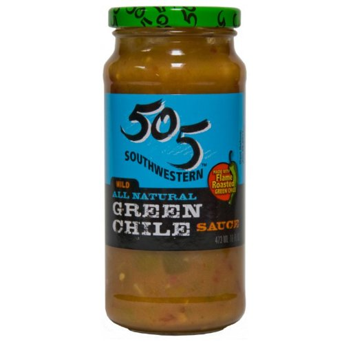 505 Southwest Sauce, Mild Green Chile, 16-Ounce (Pack of 4)
