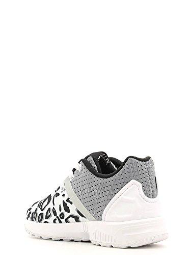 hot sale online ede01 4dd0f ... Adidas - Adidas Zx Flux Split El I Scarpe Sportive Bambina o Bianche  Tela S78807 ...
