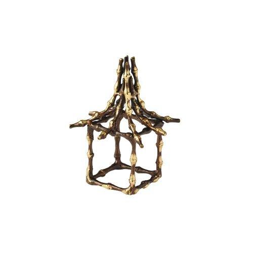 Kim Seybert Bamboo Pagoda Napkin Ring, Set of 4