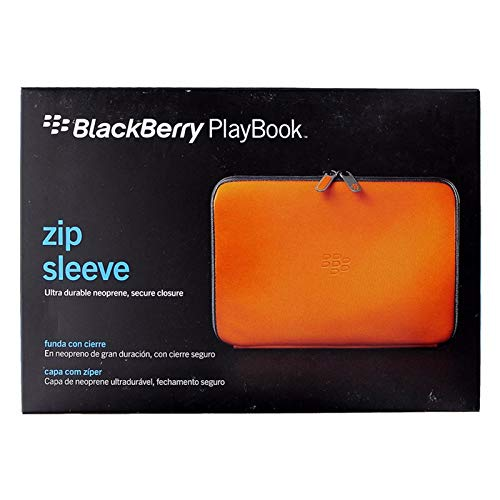 Research in Motion Fresh Orange Zip Sleeve for BlackBerry Playbook Tablet (ACC-39318-303)