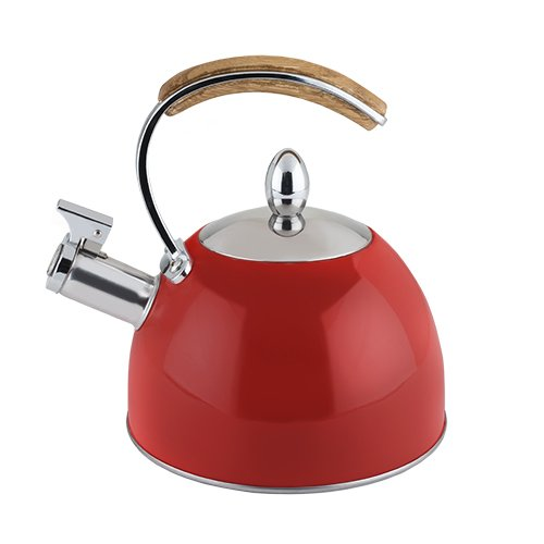 Pinky Up 5055 Tea Kettle Accessories, Red