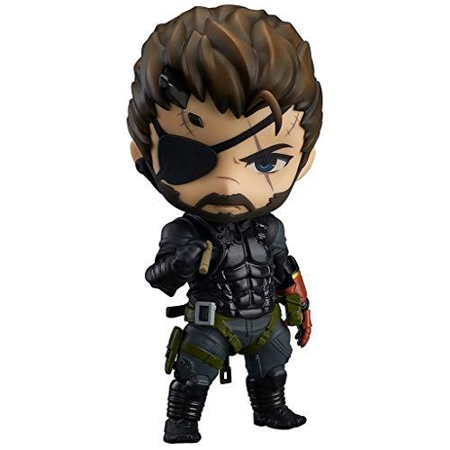 Huangyingui Metal Gear Solid: The Phantom Pain: Venom Snake Nendoroid Action Figure (Sneaking Suit Version)