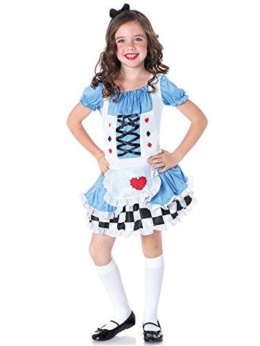 Leg Avenue Children's Miss Wonderland Costume