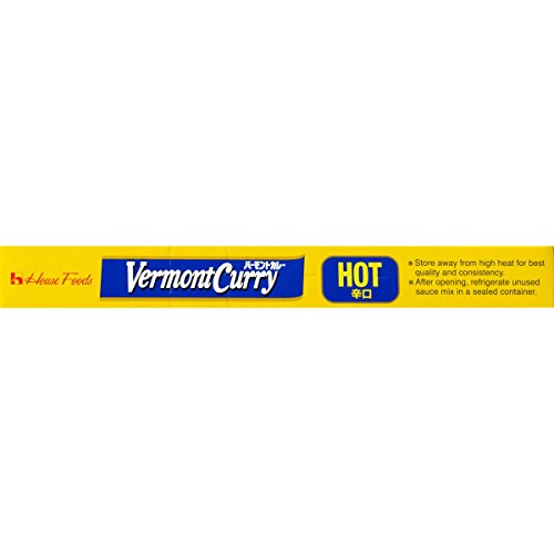 House Foods Vermont Curry, Hot, 8.1-Ounce Boxes (Pack of 10) by House Foods (Image #3)