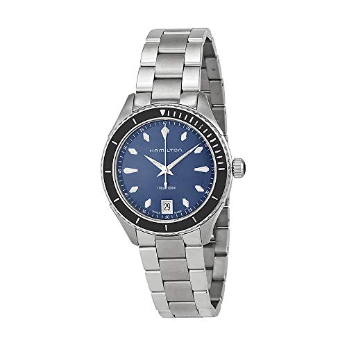 Hamilton Jazzmaster Seaview Blue Dial Stainless Steel Ladies Watch H37451141