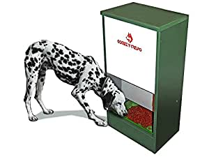 Comedero automatico grande para perros: Amazon.es: Jardín