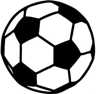 Pelota futbol , deportes etiqueta - 50cm Altura - 50cm Ancho ...