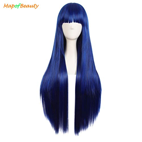 loyasun Long Straight Women's Cosplay Wig 32