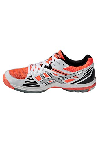 Zapatillass Elite 2016 Coral volley Asics 3 silver Gel hot White grfnrx