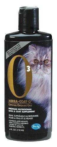 Mirra-Coat O3 Liquid Coat Conditioner for Cats, 4-Ounce, My Pet Supplies