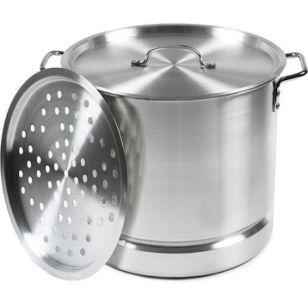 32 Pot Tamale Qt - IMUSA 32-Quart Aluminum Tamale and Seafood Steamer by Imusa