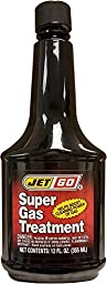 Super Gas Treatment JetGo 12 OZ MADE IN USA Helps boost Cleaning Power of Gas